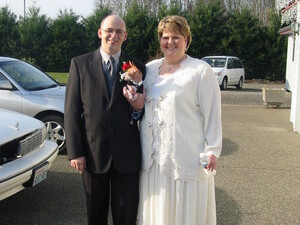 The couple got married on New Year's Eve of 2006 after Jeff proposed to Penny — twice.