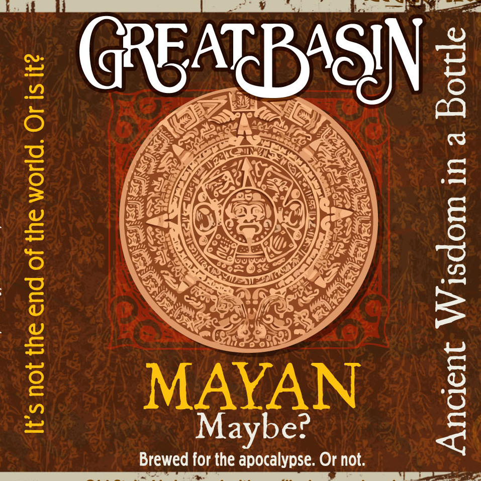 Great Basin's Mayan Maybe? beer has been a fast seller, the company's brewmaster says.