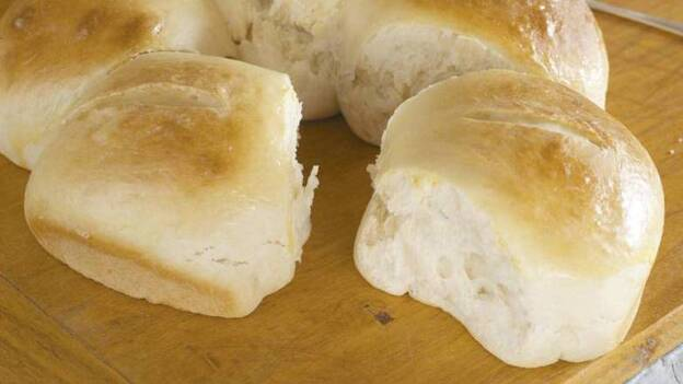 Cookbook author Marilynn Brass says eating Virginia Lima's traditional Portuguese Sweet Bread is like biting into a cloud. (Andy Ryan)