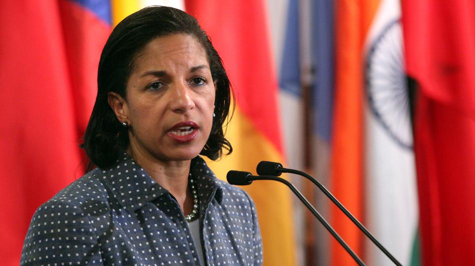 U.N. Ambassador Susan Rice. (Reuters /Landov)