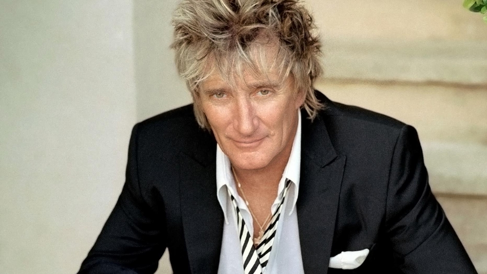 Rod Stewart is a Grammy-winning artist and Rock and Roll Hall of Fame inductee. He has two new releases this fall: the memoir <em>Rod</em> and the holiday album <em></em><em>Merry Christmas, Baby</em>. (Penny Lancaster/Courtesy of the artist)