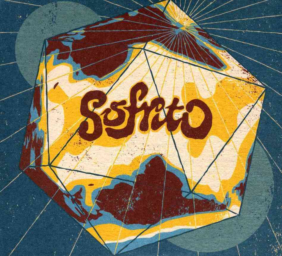 The cover of Sofrito: International Soundclash, a compilation of Tropical music recently released by the Strut label.