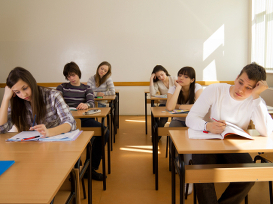 Some professors prefer giving students open-book tests so they all have the same access to information. Others believe letting the students prepare cheat sheets yields better results. (iStockphoto.com)