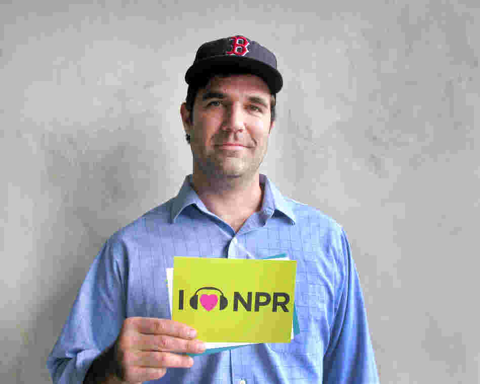 Rob Delaney at NPR West