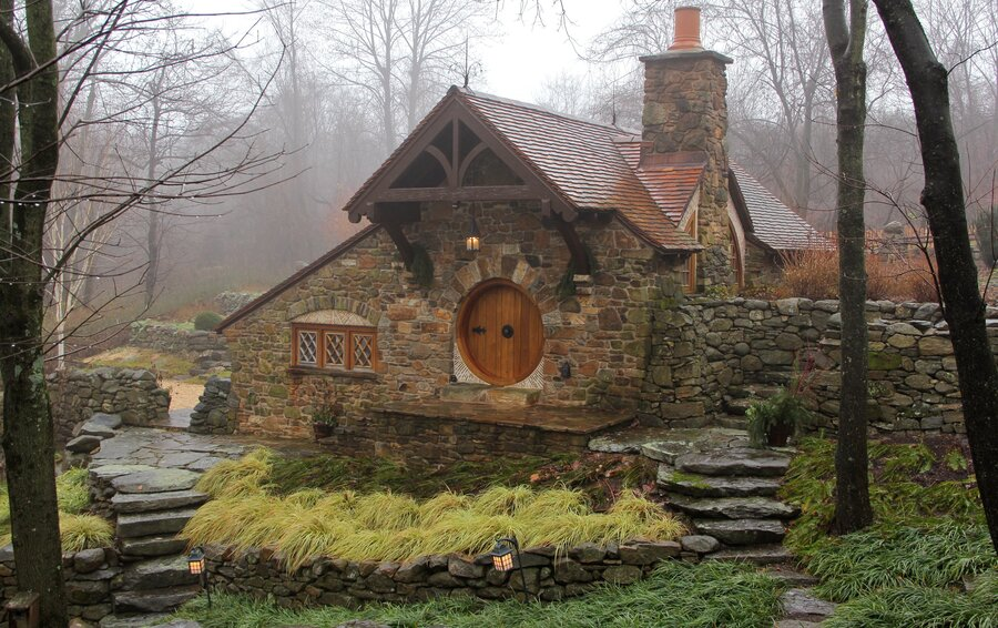 No Orcs Allowed Hobbit House Brings MiddleEarth To Pa  NPR - Hobbit type house