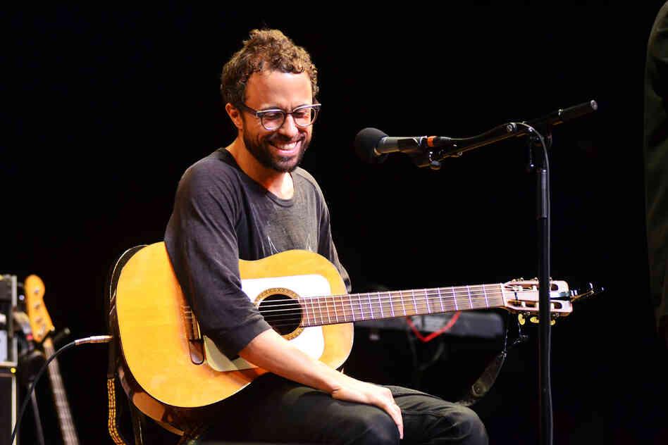 Grammy-winning singer-songwriter Jesse Harris plays songs from his bossa nova-influenced new album, Sub Rosa.