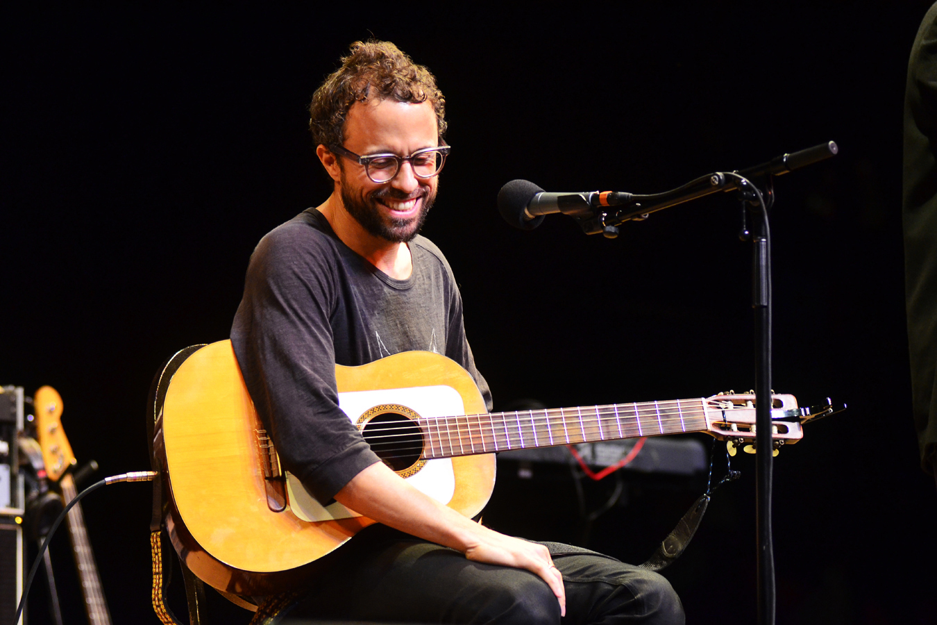 Grammy-winning singer-songwriter Jesse Harris plays songs from his bossa nova-influenced new album, Sub Rosa.