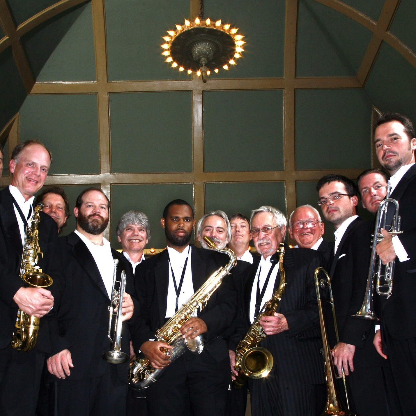 The Knoxville Jazz Orchestra's new album is called Christmas Time Is Here.