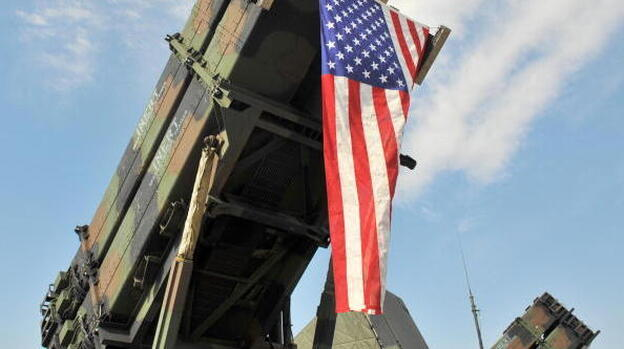 A U.S. Army Patriot Surface-to Air missile system on display in South Korea. (AFP/Getty Images)