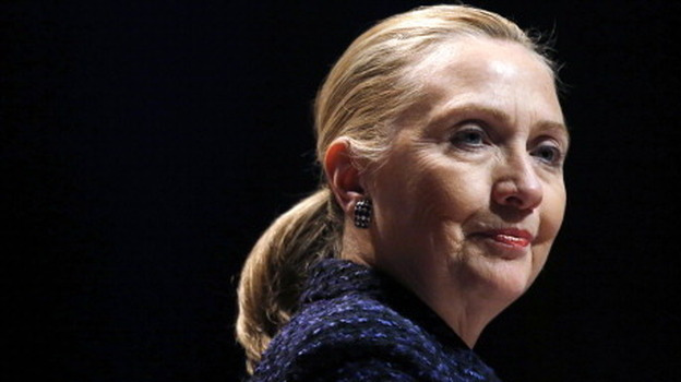 Secretary of State Hillary Clinton earlier this month in Dublin. (AFP/Getty Images)