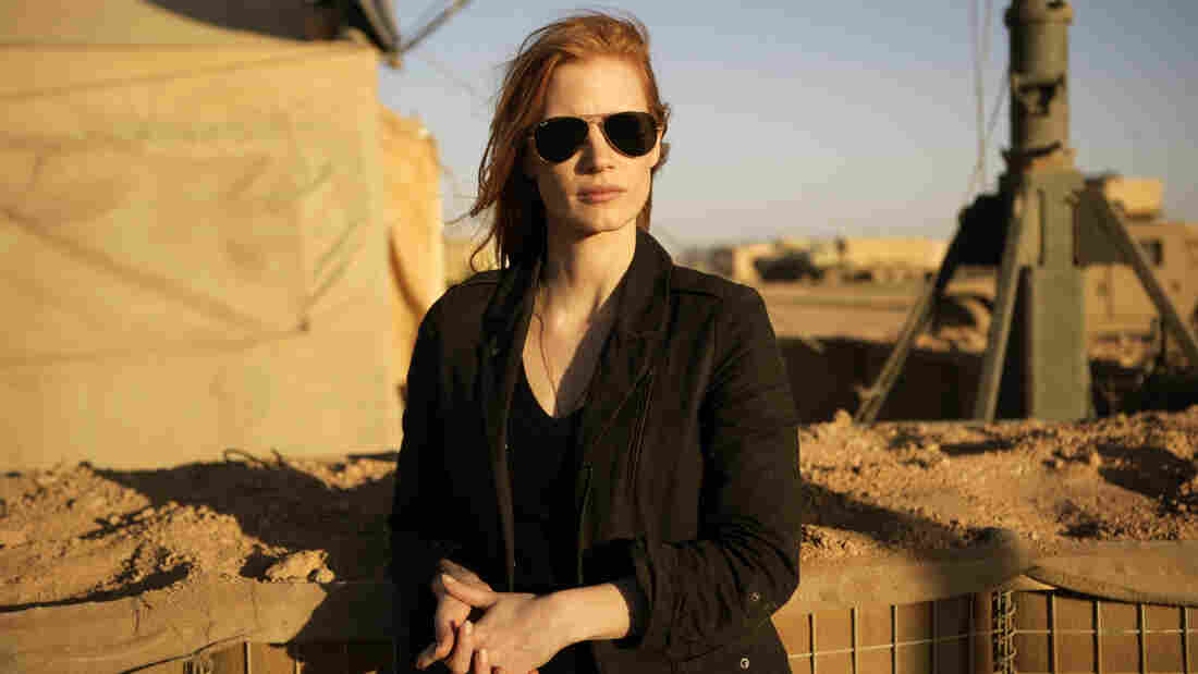 In the new film Zero Dark Thirty, Jessica Chastain plays Maya, a member of the elite team of spies and military operatives stationed in a covert base overseas who secretly devoted themselves to finding Osama bin Laden.