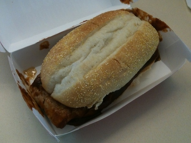 Sandwich Monday: The Mighty McRib Returns