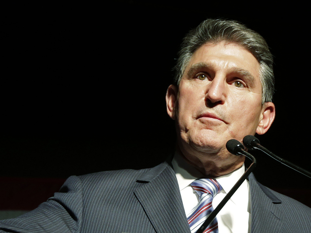 """Sen. Joe Manchin, a West Virginia Democrat, has an """"A"""" rating from the NRA, but questions why anyone would need the kind of semi-automatic assault rifle used in the Newtown, Conn., killings."""