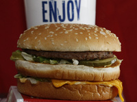 Visitors to one Kansas City hospital will no longer be able to buy a Big Mac on the premises.