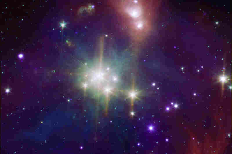 """""""While perhaps not quite as well-known as its star formation cousin Orion, the Corona Australis region ... is one of the nearest and most active regions of ongoing star formation."""""""
