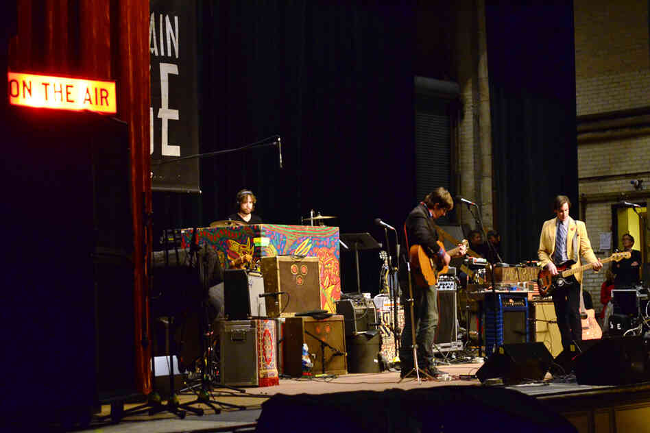 John Darnielle plays with bassist Peter Hughes and drummer Jon Wurster, with whom he's been recording and touring since 2007.