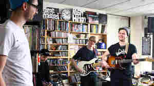 Alt-J Tiny Desk Performance NPR 2012