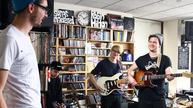 Alt-J Tiny Desk Performance NPR 2012 (NPR)