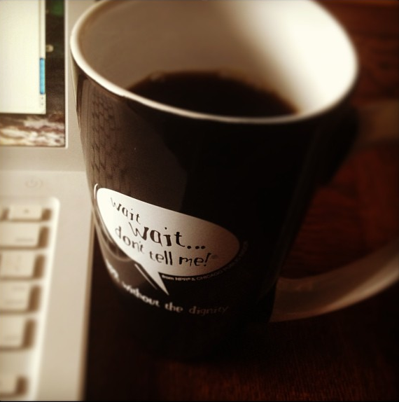 From @fierce_flawless via Instagram: My new huge NPR mug! #@nprswag