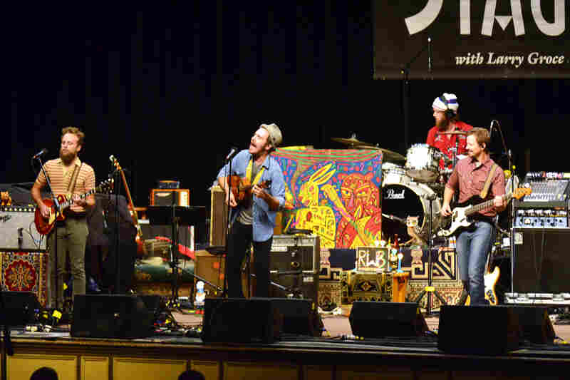"Based in Columbus, Ohio, Red Wanting Blue tours so frequently it has earned the nickname ""America's local band."""