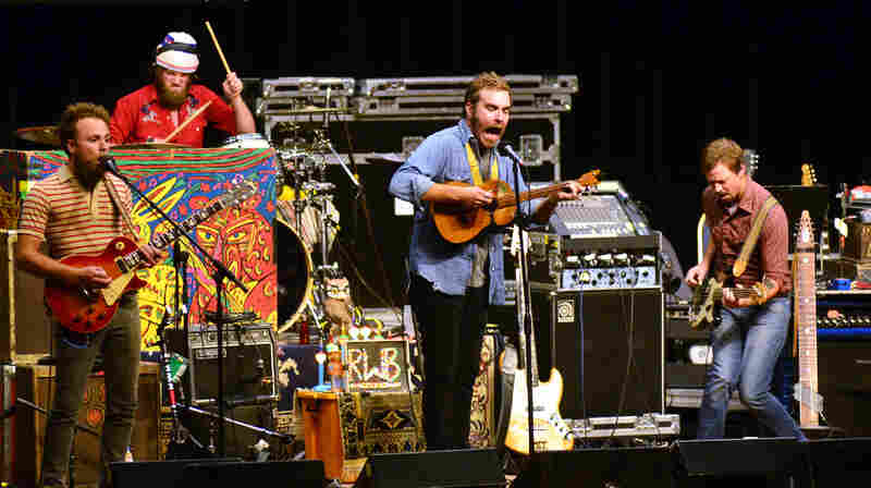 Red Wanting Blue On Mountain Stage