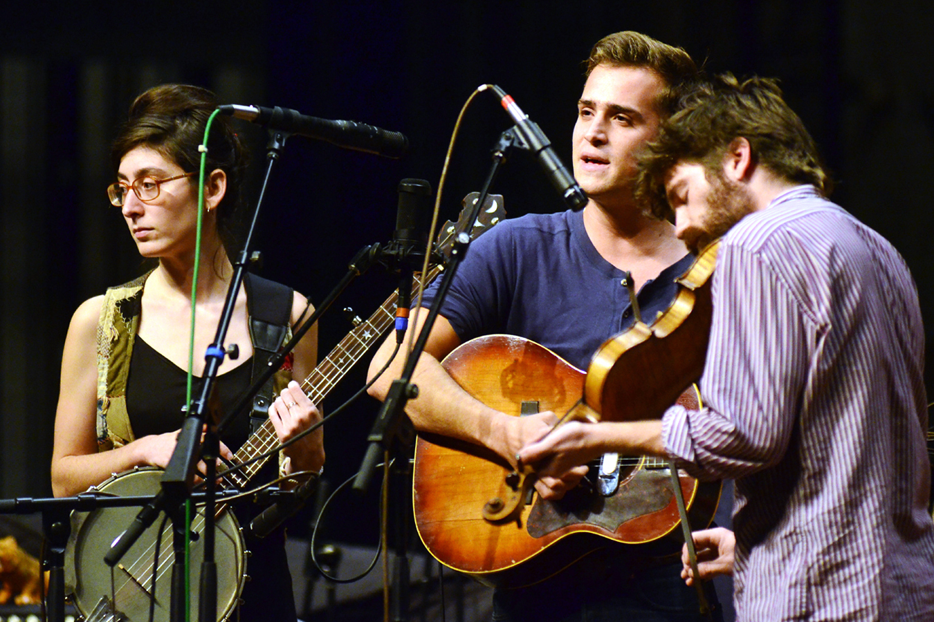 After putting in their time on the road in a battered van, the members of Spirit Family Reunion recently secured a spot at the Newport Folk Festival.