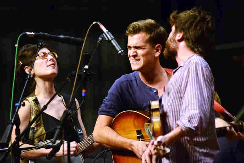 Maggie Carson, Nick Panken and Mat Davidson share lead-vocal duties.