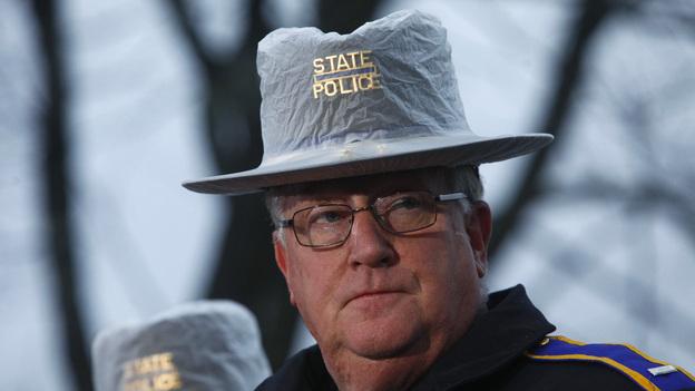 Connecticut State Police spokesman Lt. J. Paul Vance. (Reuters /Landov)