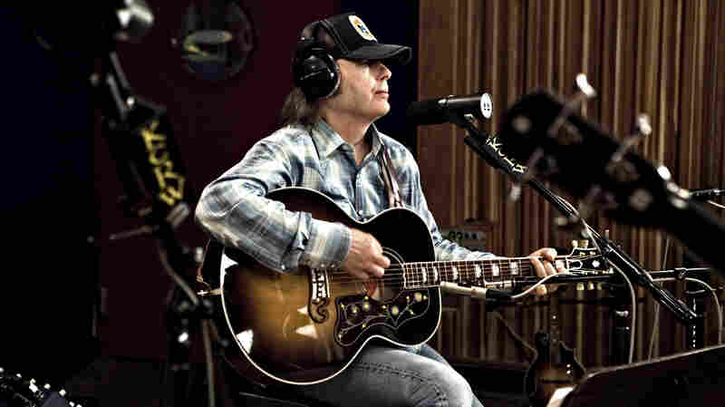 Dwight Yoakam performs on KCRW's Morning Becomes Eclectic.