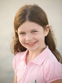This photo provided by the family shows Jessica Rekos. Rekos, 6, who was killed Friday at Sandy Hook Elementary School, in Newtown, Conn.,
