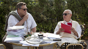John Chambers (John Goodman) and Lester Siegel (Alan Arkin) help craft a fake movie production in Argo.