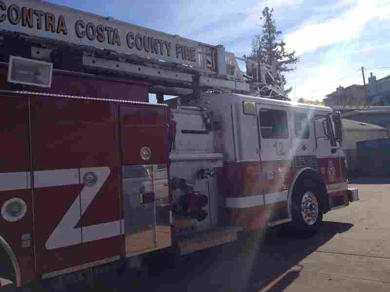 A Contra Costa County fire truck.