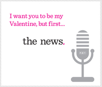 NPR Valentines: Expressions of love, public radio style.