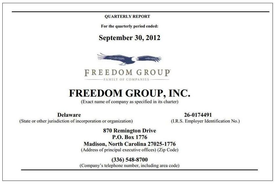 (Freedom Group)