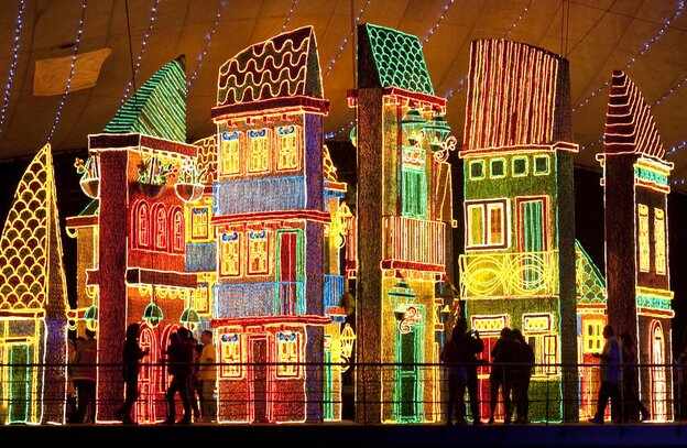 Medellín, Colombia is famous for its Christmas lights.