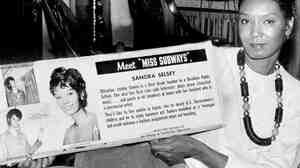 Selsey was Miss Subways January-March 1964