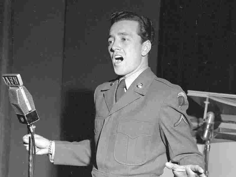 """Vic Damone, like a good choir boy, sang his own rendition of """"Ave Maria."""""""