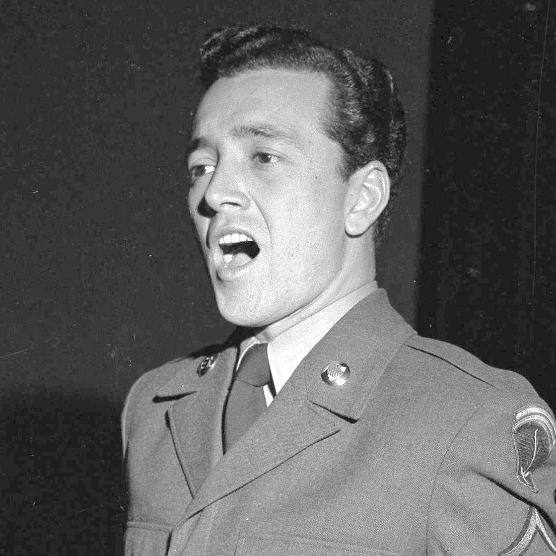 "Vic Damone, like a good choir boy, sang his own rendition of ""Ave Maria."""