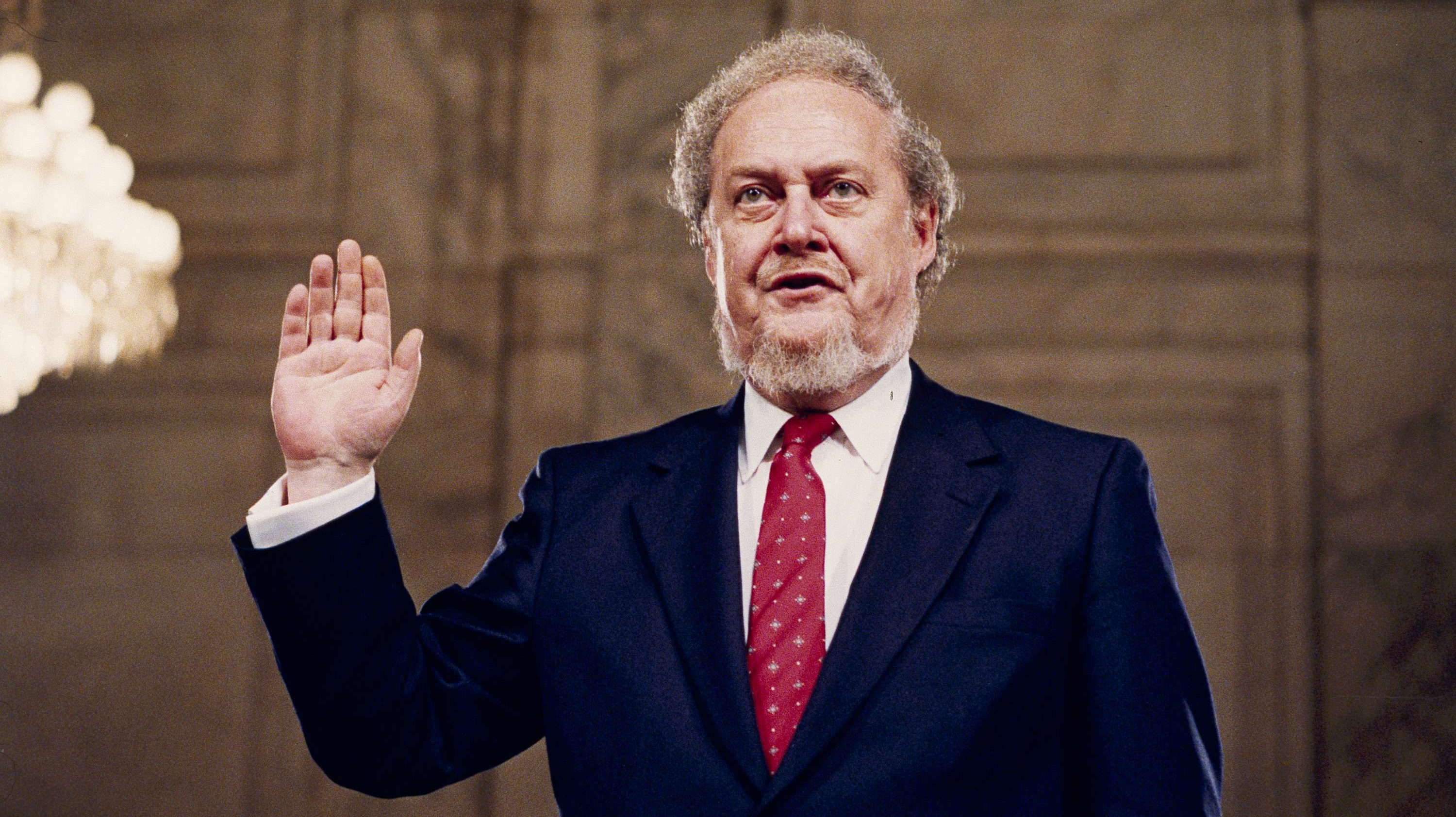 Robert Bork's Supreme Court Nomination 'Changed Everything, Maybe Forever'