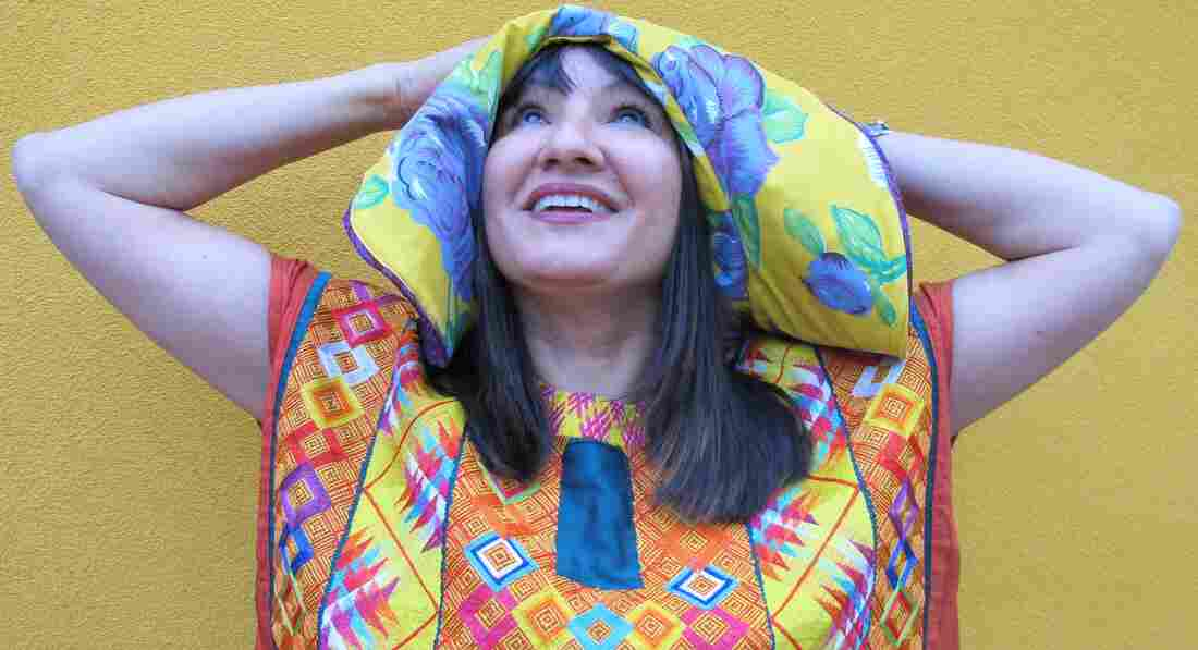 Author Sandra Cisneros.