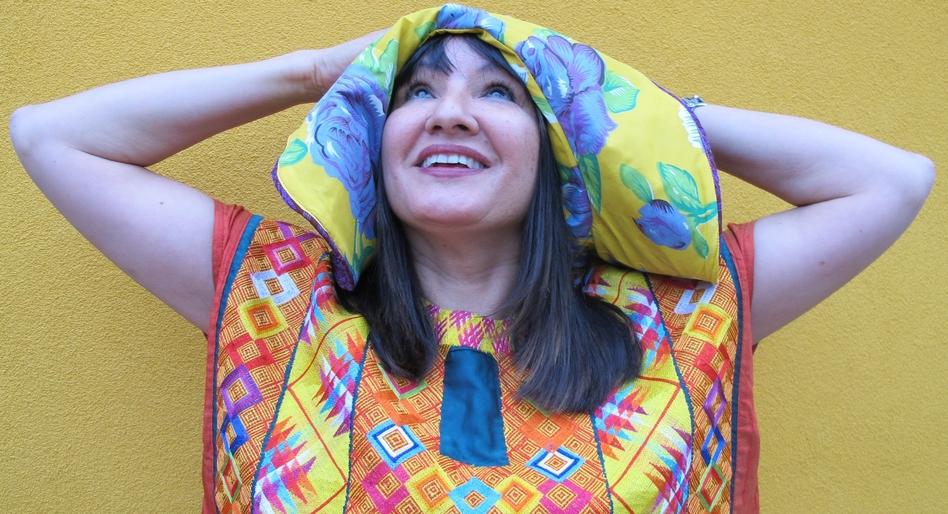 Author Sandra Cisneros.