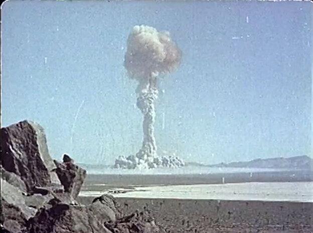 A-Bomb blast