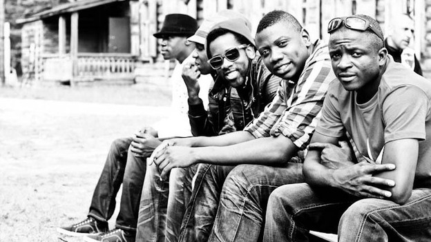 Mokoomba, a rising young band of Tonga musicians from Zimbabwe (Courtesy of the artist)