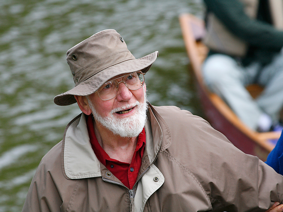 Canoe maker and conservationist Ralph Frese founded the gear shop Chicagoland Canoe Base. (Laurance Reed)
