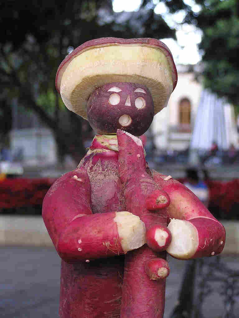 Anyone else think this radish-man looks like Mr. Bill?