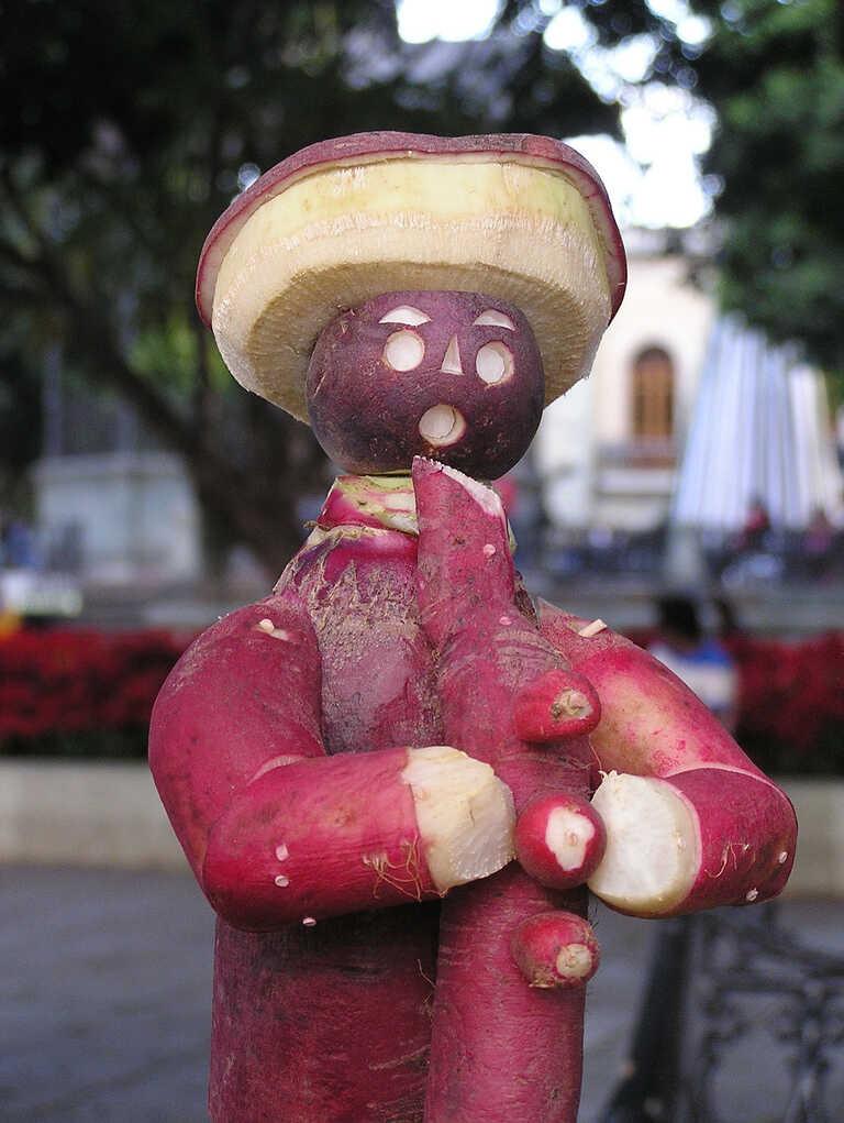 Anyone else think this radish-man looks like Mr. Bill?