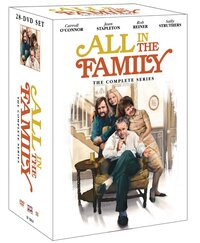 The cover of All In The Family: The Complete Series.