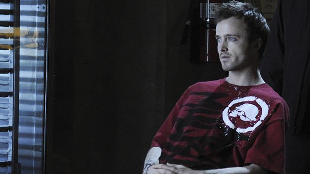 Aaron Paul plays a meth-making drug dealer on the AMC drama Breaking Bad. (AMC)