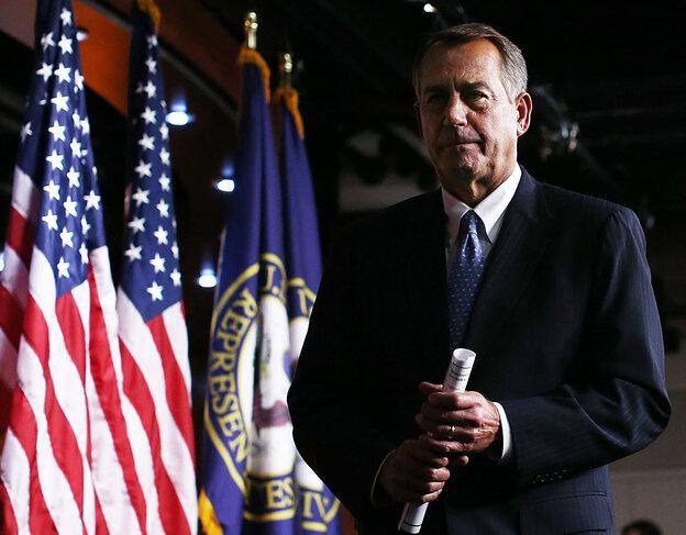 House Speaker John Boehner, R-Ohio, on Thursday in the Capitol.