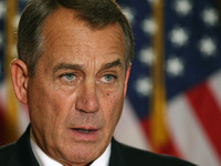 House Speaker John Boehner, R-Ohio, at the Capitol on Wednesday.